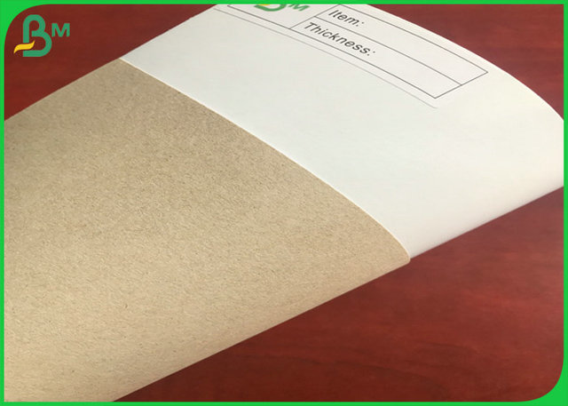 250g  FSC Certificate Gift Wrapping Paper Coated Duplex Board With White Coating