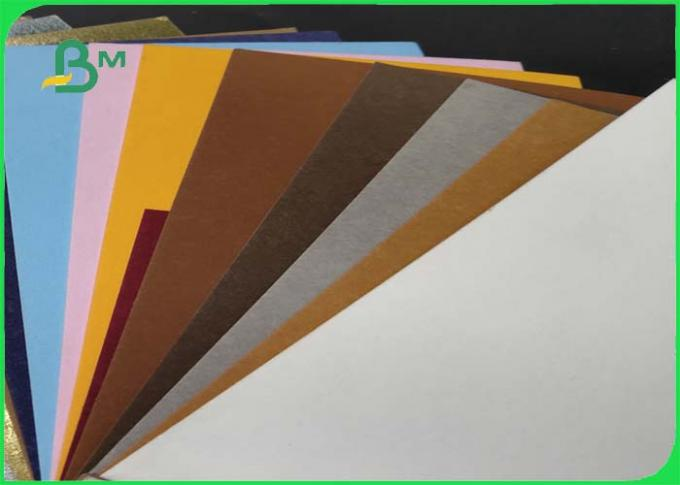 Natural Fabic Washable Fiber Paper Soft And Sewable SGS Aproved For Making Bags