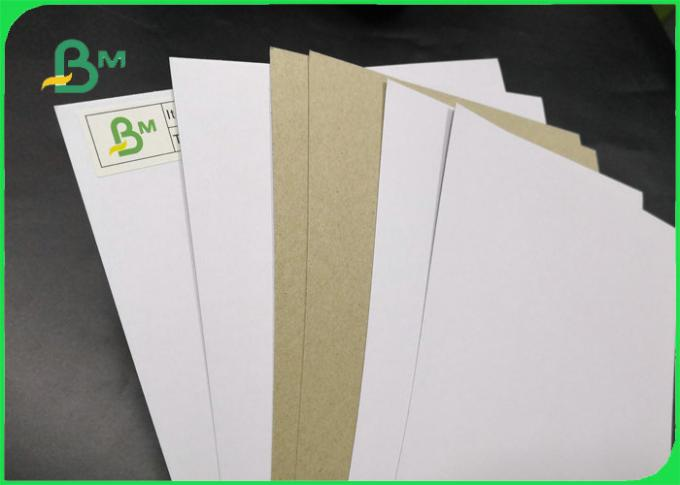 FSC Certified One Side Duplex Clay Coated Paper Folding Strength 250gsm 300gsm