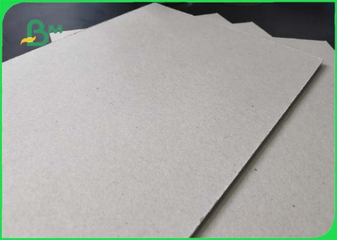 FSC Certificed Grey Chipboard / Eco - friendly Recycled Paper Grade AAA AA For Storage Box