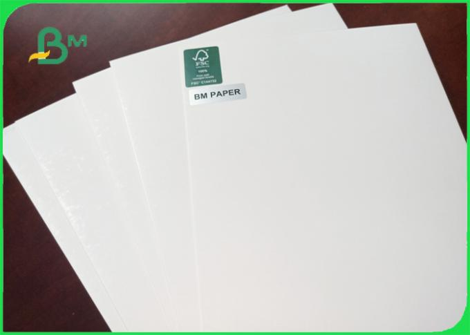 1.5 / 1.35mm hight thickness glossy smoothness white cardboard for packing