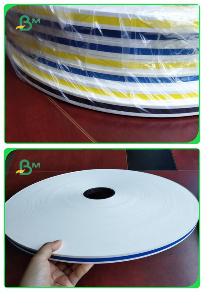 Finished Cut Printed Color Straw Paper Small Width 13.5mm No Chemical Element