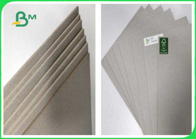1.5mm 2.24mm Two Sides Grey Board / Cardboard A3 Size For Children Drawing