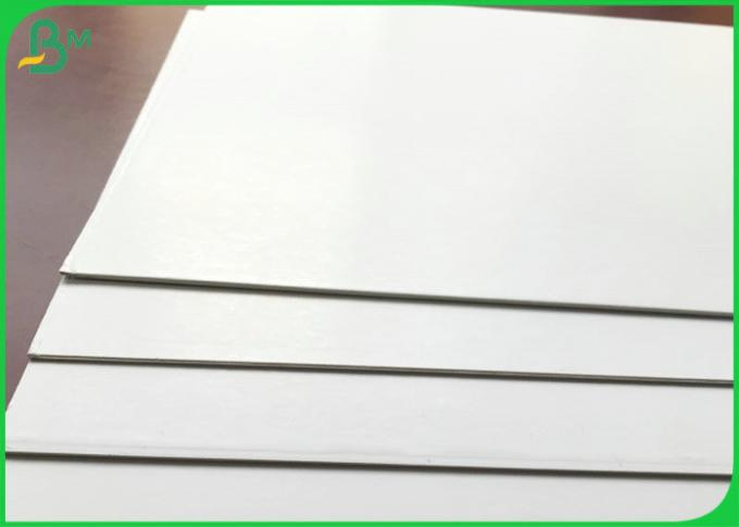 Double sides White Color Cellulose White Cardboard Duplex Board 1mm 1.2mm 1.5mm