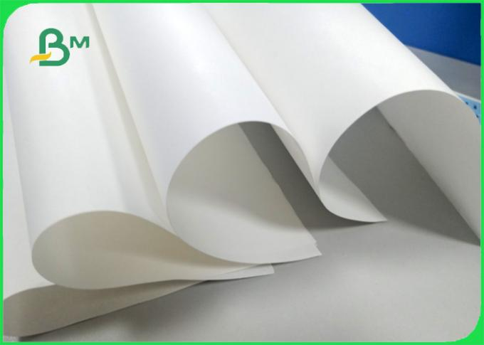 Width 70*100cm High whiteness 70gsm FDA white kraft paper for food packing