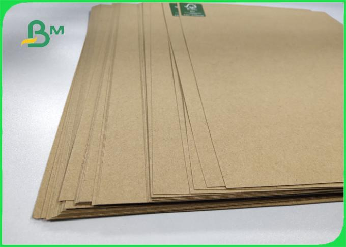 110 / 160 / 200g Recycled Pulp Kraft Liner Board Packing Rolls Size 65cm 86cm