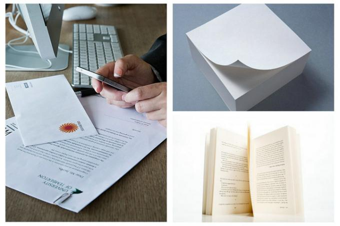 FSC High White Uncoated Woodfree Paper 80gsm 100gsm For Books Customized