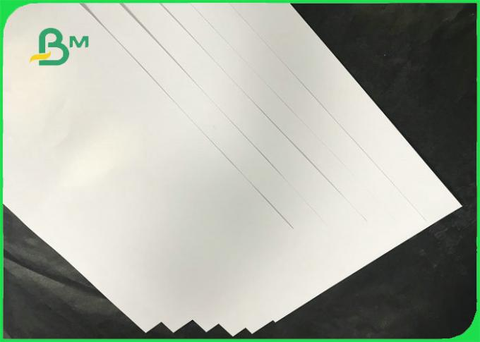 65 * 95cm 115gsm 128gsm 157gsm Glossy White Illustrative Paper For Printing