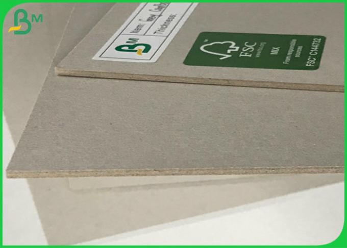 Compressed Board Laminated Grey Carton 1mm 1.5mm 1.7mm Hard Card board Sheets