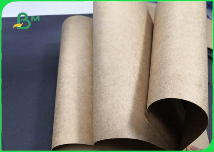 100% Food Grade Brown Kraft Paper For Drawer Box 170gsm 300gsm High strength