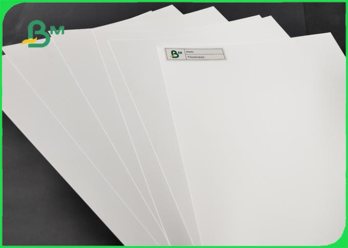 White Polypropylene Paper Smooth Surface And Waterproof 450 x 320mm